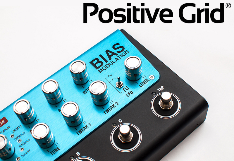 Musikmesse 2017 – Positive Grid BIAS Delay & BIAS Modulation
