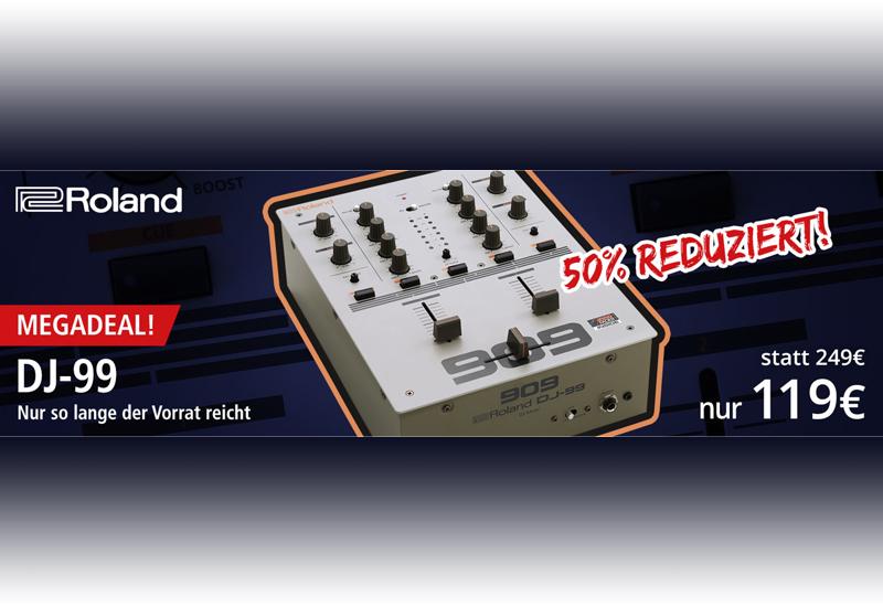 ROLAND – DJ-99 – Jetzt für unschlagbare 119,-€!