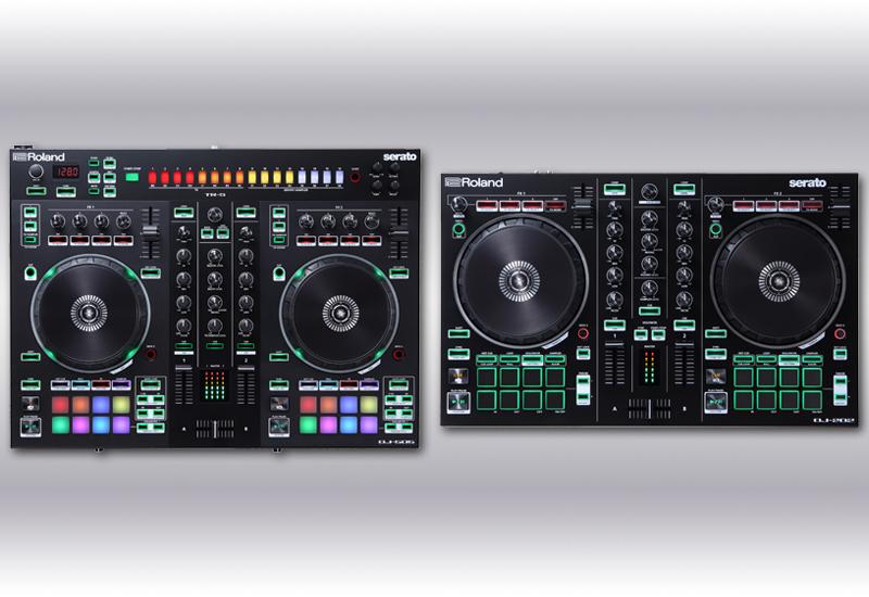 ROLAND präsentiert die DJ-Controller DJ-505 & DJ-202