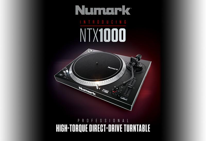 NUMARK – NTX1000 – jetzt erhältlich!