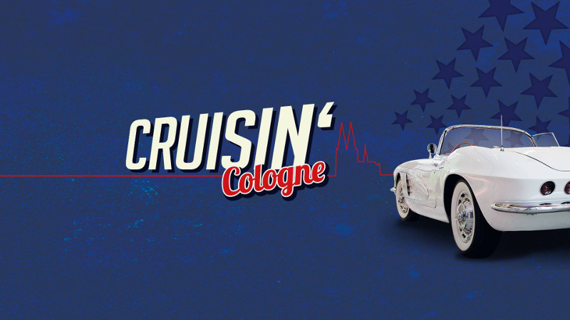 US-Car-Treffen Cruisin' Cologne 2018