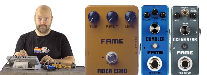 Gitarreneffekte mit Synths und Drumcomputer verwenden