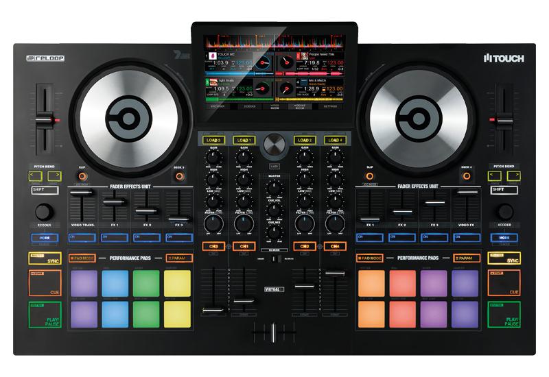 "RELOOP stellt den DJ-Controller ""TOUCH"" vor!"