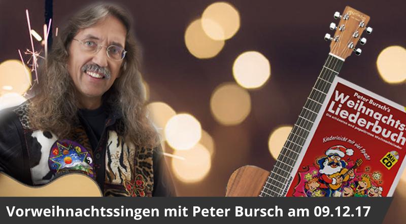 Weihnachtssingen mit Peter Bursch
