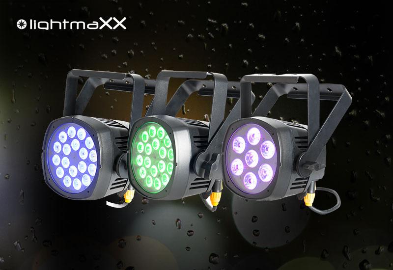 Die neuen lightmaXX ARC Outdoor-Scheinwerfer