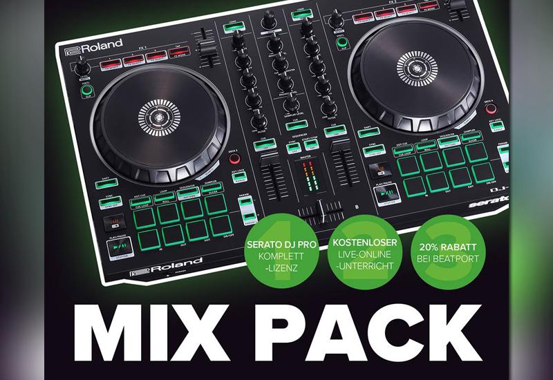 Roland DJ-202 | Mixpack is back! (DJ-202 Controller + Serato DJ Pro + Live-Online-Unterricht + Beatport-Rabatt)