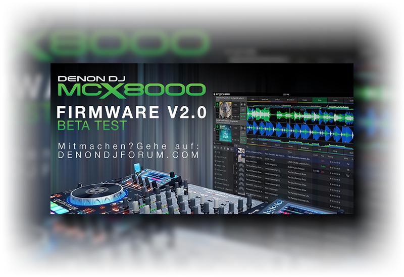 DENON DJ – MCX8000 Firmware 2.0