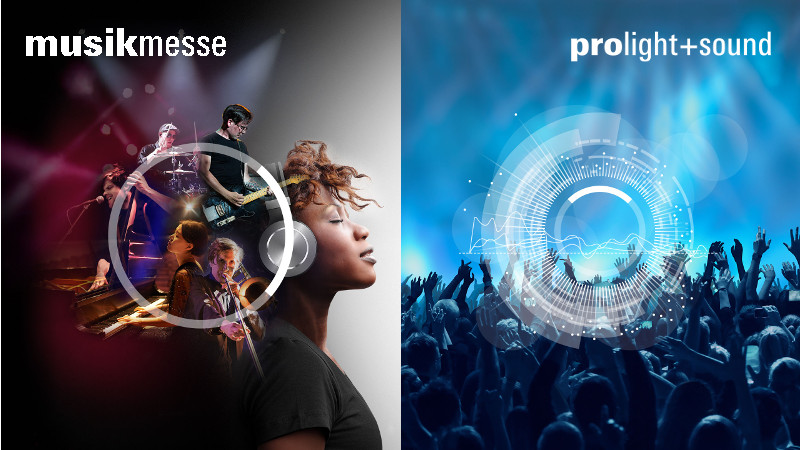 Musikmesse und Prolight+Sound 2018