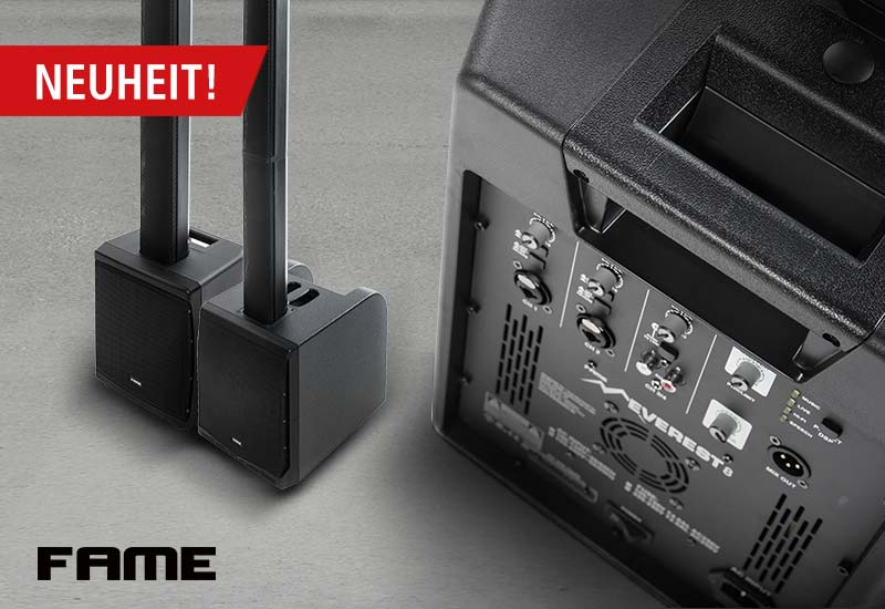 Prolight + Sound 2018 News – Fame audio Everest 8 & 10