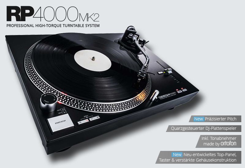 RELOOP – RP-4000 MK2 DJ-Turntable – Jetzt erhältlich!
