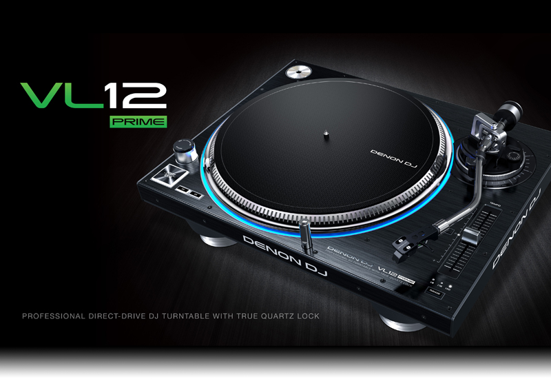 DENON DJ – VL12 Prime DJ-Turntable – Jetzt wieder verfügbar!