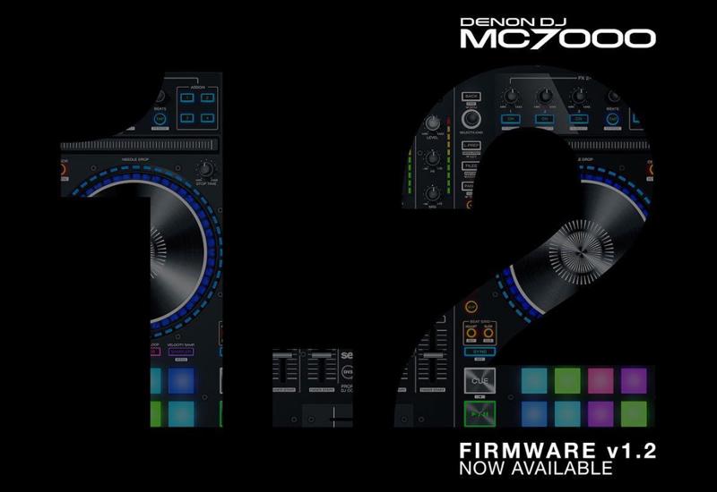 DENON DJ – MC7000 erhält neues Firmware Update 1.2!