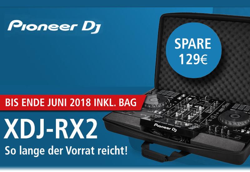 PIONEER DJ – XDJ-RX2 BAG Aktion!