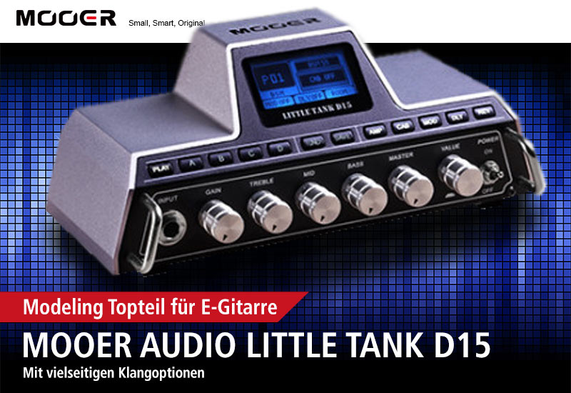 Mooer Audio Little Tank D15