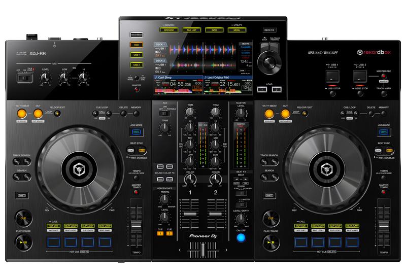 """PIONEER DJ präsentiert den """"XDJ-RR"""" – Das 2-Kanal All-in-one DJ-System für rekordbox!"""