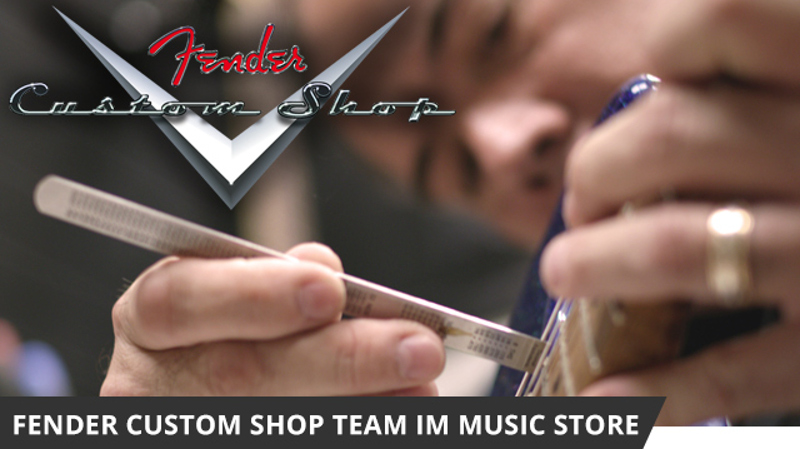 FENDER Custom Shop Master Builder im MUSIC STORE
