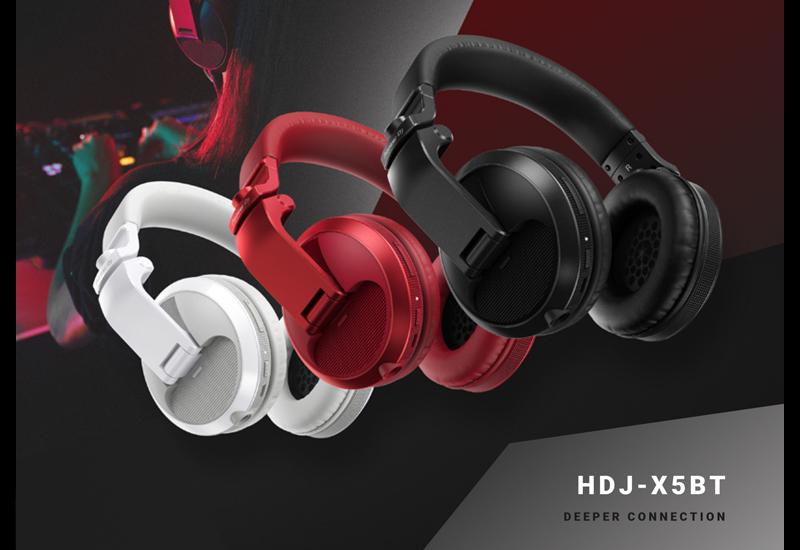 PIONEER DJ stellt den HDJ-X5BT Bluetooth-Kopfhörer vor!