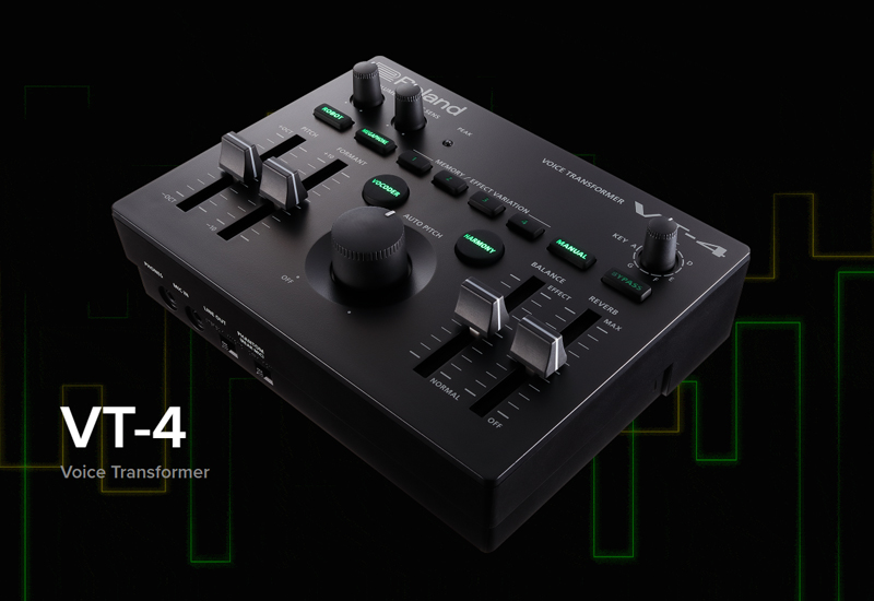 ROLAND präsentiert den VT-4 Voice Transformer!