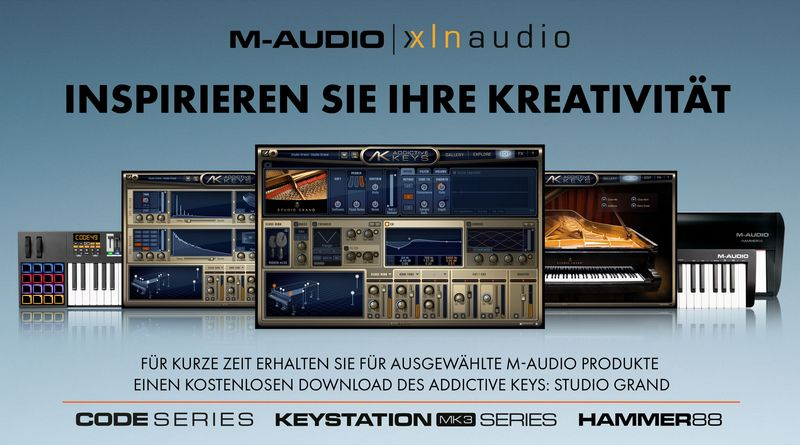 Für kurze Zeit – XLN Audio Promotion