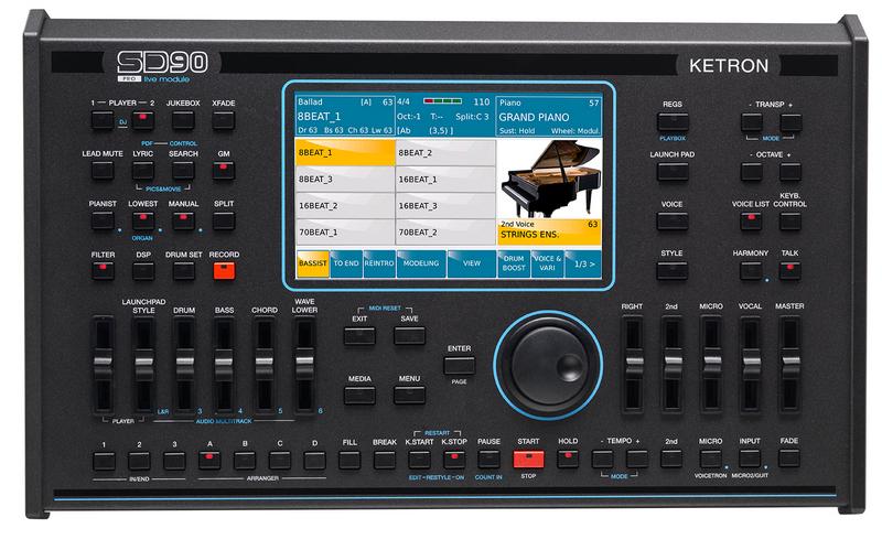 Neue Styles für Ketron SD9, SD60 und SD90!