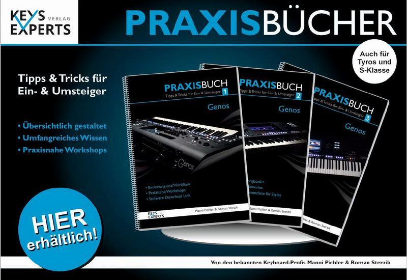 Neue Keys-Eyperts Praxisbücher für Yamaha Tyros