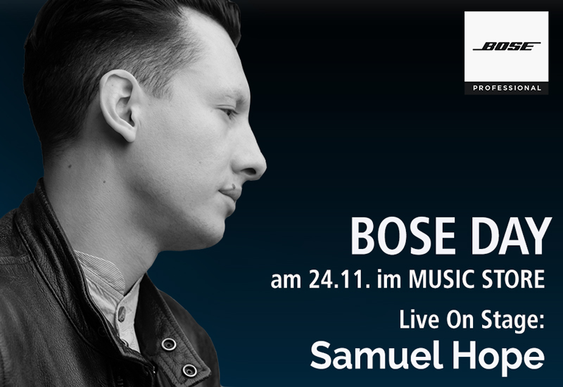 Bose Day am 24. November im MUSIC STORE