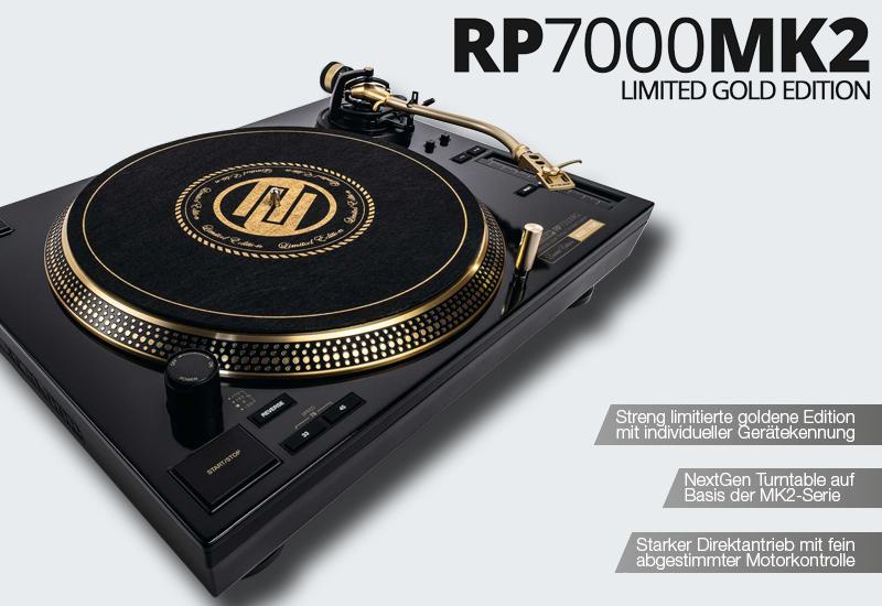 RELOOP präsentiert den RP-7000 MK2 GLD!