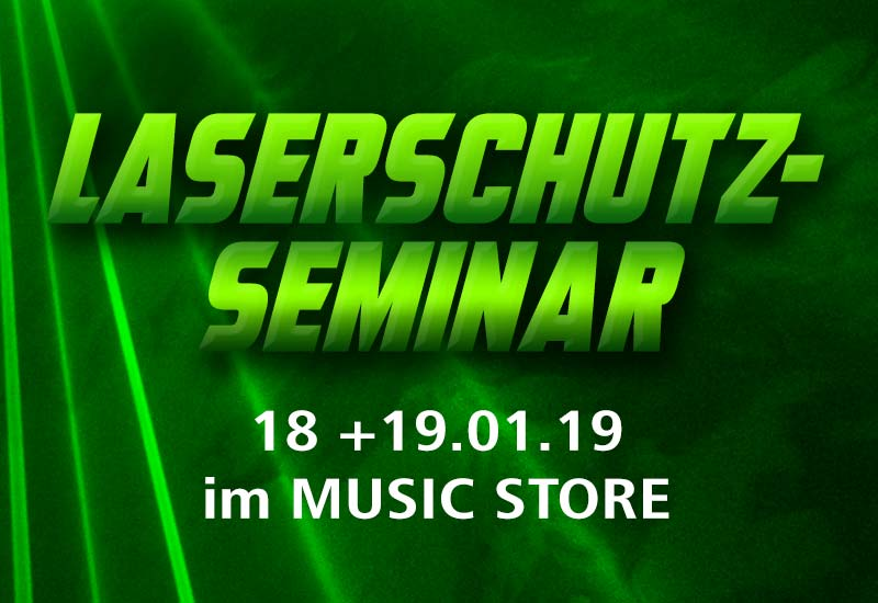 Laserschutz Seminar Januar 2019 – Werden Sie Laserschutz-Beauftragter –