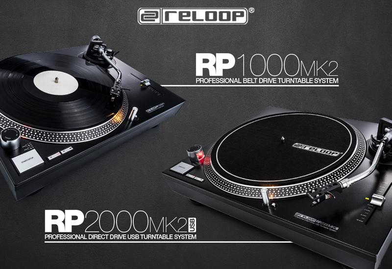 RELOOP präsentiert den RP-2000 USB MK2 und RP-1000 MK2 DJ-Plattenspieler!