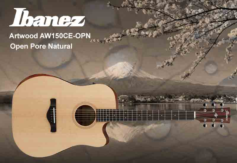 NAMM Show 2019 – Ibanez Artwood AW150CE-OPN