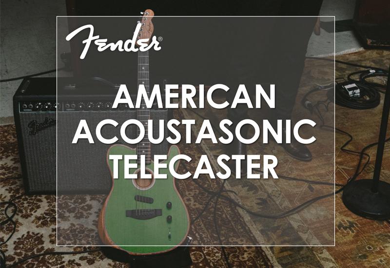 NAMM Show 2019 – Fender American Acoustasonic Telecaster