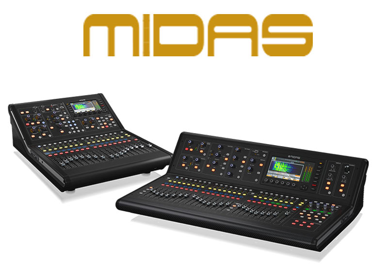 NAMM Show 2019 – MIDAS M32 Live und M32R Live