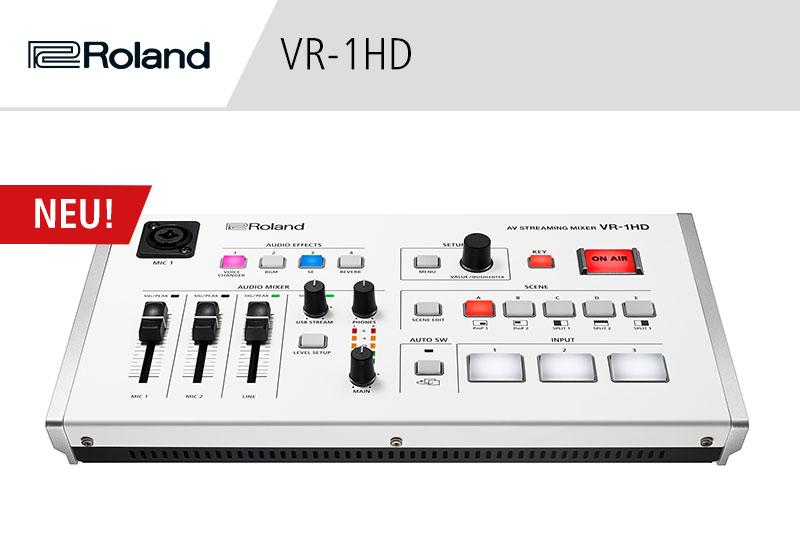 NAMM Show 2019 – Roland VR-1HD