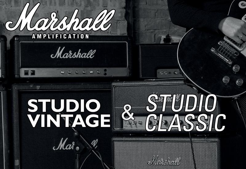 NAMM Show 2019 – Marshall veröffentlicht die Marshall Studio Serie