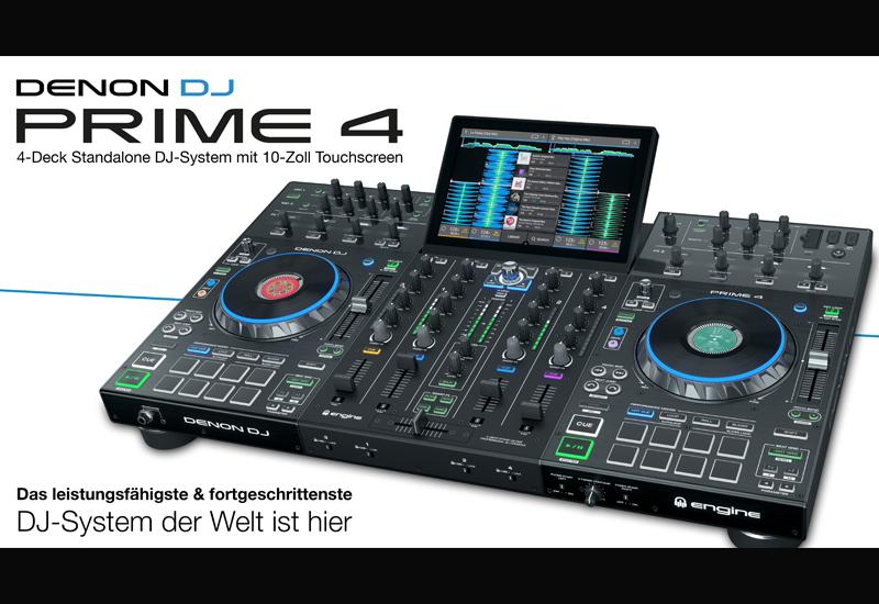 NAMM Show 2019 – DENON DJ stellt das PRIME 4 Standalone DJ-System vor!