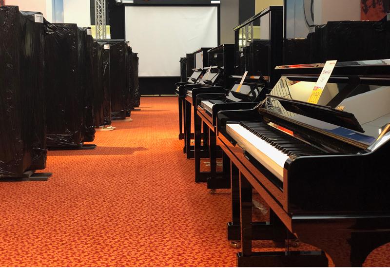 Neue Abteilung im MUSIC STORE: Klaviere und Flügel bald im Atrium