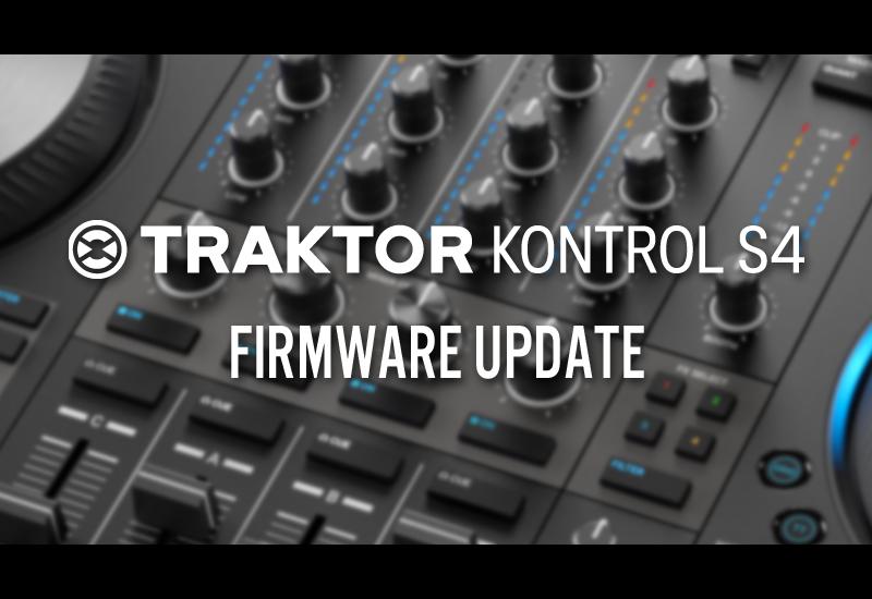 NAMM Show 2019 – NATIVE INSTRUMENTS – Traktor Kontrol S4 – Firmware Update!