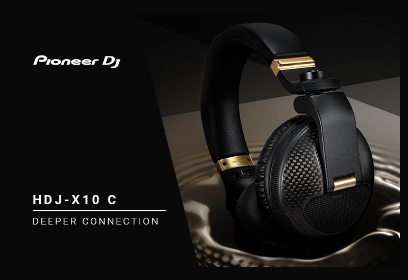 NAMM Show 2019 – PIONEER DJ präsentiert den HDJ-X10C Premium DJ-Kopfhörer!