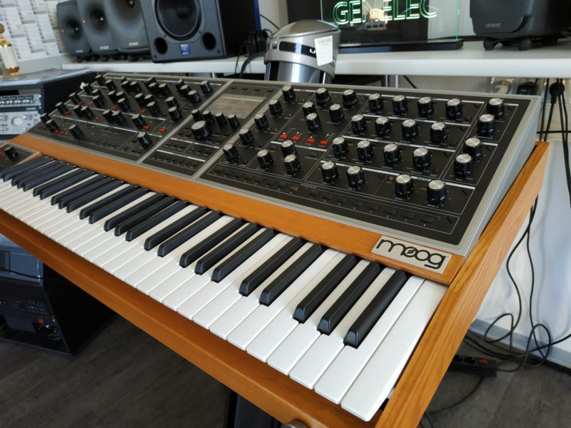 Moog ONE 16 Voice ab sofort im Laden antestbar!