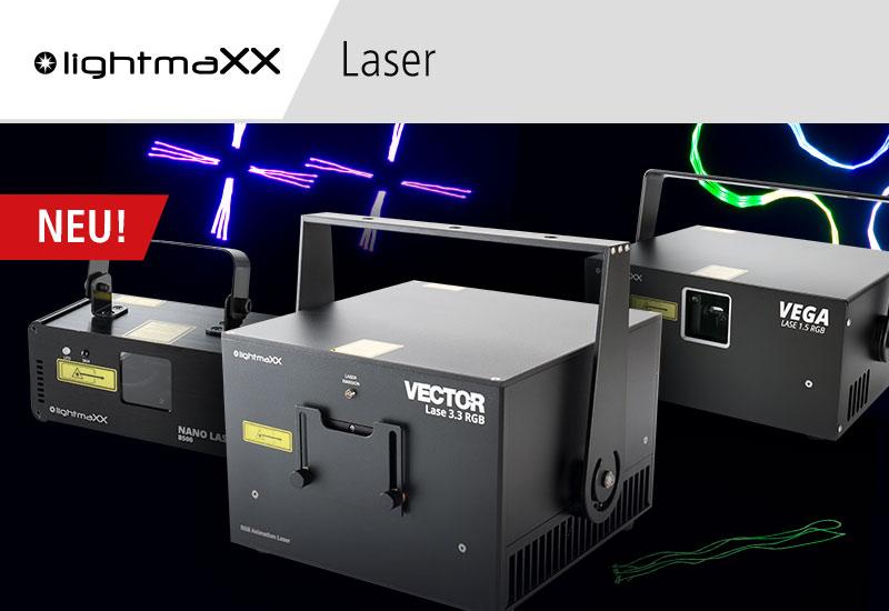Neue lightmaxx Laser