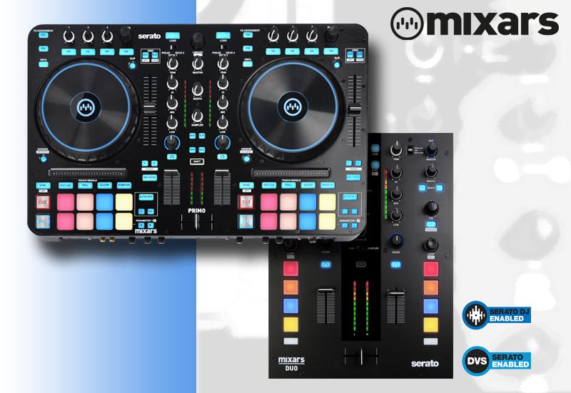 Mixars – Primo – Jetzt verfügbar! & Mixars – DUO MK2 – Wieder lieferbar!