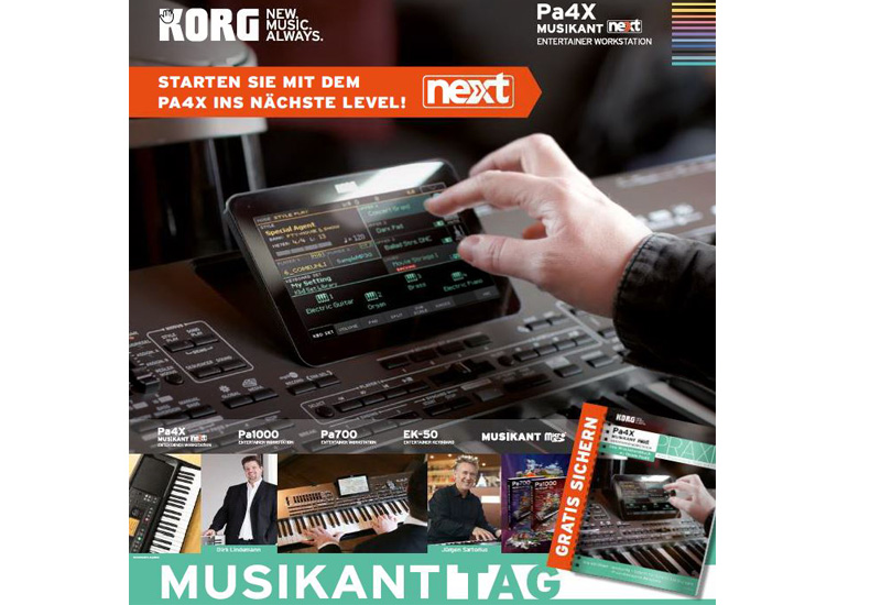 KORG MUSIKANT – Workshop-Tour.