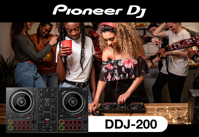 PIONEER DJ präsentiert den DDJ-200 DJ-Controller!