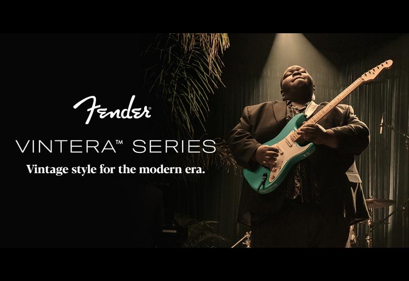 Fender Vintera Series – Ab sofort im MUSIC STORE Online Shop!