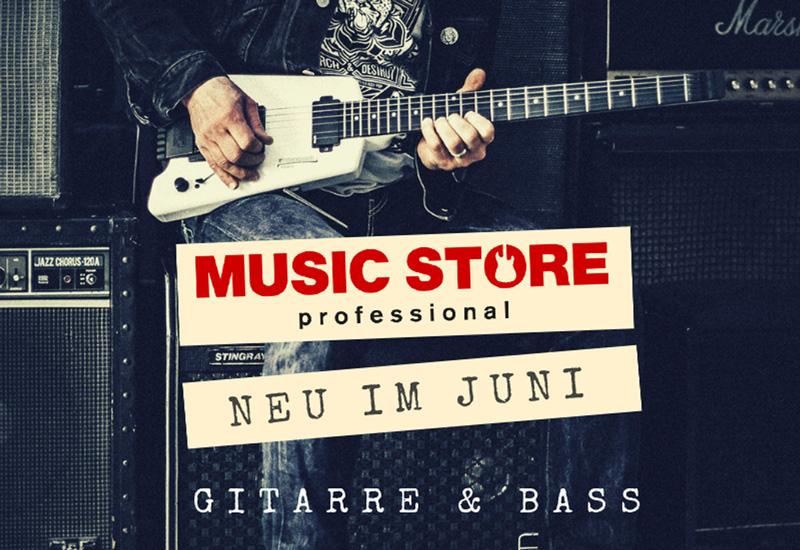 Neuheiten aus der Gitarren- und Bassabteilung