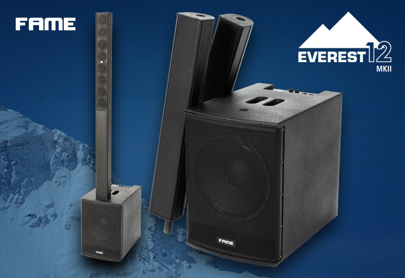 Neu im Sortiment – Fame Audio Everest 12 MKII