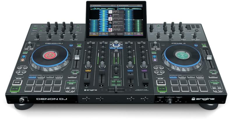 DENON DJ – PRIME 4 – WIEDER VERFÜGBAR!
