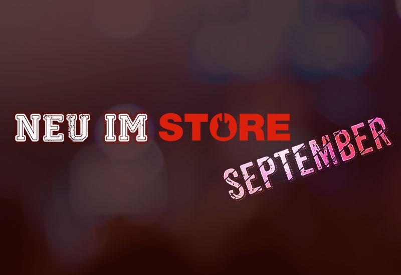 Neu im MUSIC STORE: September