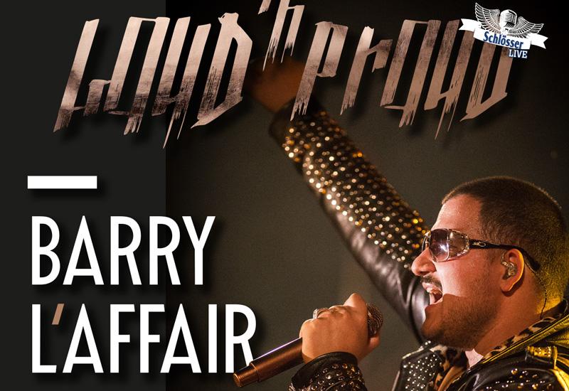 Gewinnspiel: Wir verlosen Gästelistenplätze für Barry L'Affair am 25.10. in Düsseldorf.