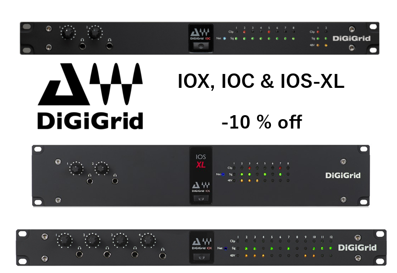 10% Preissenkung bei DiGiGrids IOX, IOC & IOS-XL